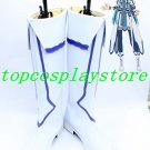 SAO Sword Art Online Asuna Yuuki Cosplay Shoes boots long 2