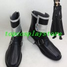 Sword Art Online SAO Kirito Kazuto Kirigaya Cosplay Shoes Boots Custom made #SA034