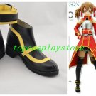 Sword Art Online Silica Keiko Ayano Cosplay Costume Boots Boot Shoes Shoe #SA031