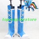 My Little Pony Equestria Girls - Rainbow Rocks Rainbow Dash cosplay shoes boots