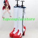 Tengen Toppa Gurren Lagann Yoko Littner Viral Cosplay Boots shoes red high heel