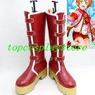 LOVE LIVE! LOVELIVE Awakening of Valentine Hoshizora Rin Cosplay Boots shoes  #15YJZ95