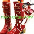 LOVE LIVE! LOVELIVE Awakening of Valentine Hoshizora Rin Cosplay Boots shoes ver 2 #15YJZ95