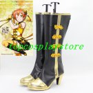 Love Live! cheongsam Awakening Hoshizora Rin Dancing Stars on Me  Cosplay Boots shoes #15YJZ96