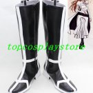 bleach Inoue orihime black & white  cos Cosplay Boots Shoes shoe boot  #15YJZ24