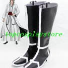Bleach Cosplay Aizen Sousuke Arrancar's Black Cool cos Cosplay Boots Shoes shoe boot  #15YJZ25