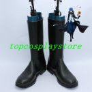 Fate/Unlimited Codes Lancer Black Silver  Fairy Tail Jellal Fernandes Cosplay shoes boot black ver 2