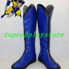 X-Men Logan W olverine cosplay Shoes Boots custom-made blue ver #15YJZ88