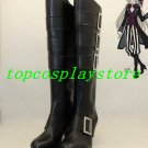 Black Butler Sebastian UnderTaker High Heel Cosplay Boots shoes #15YJZ94