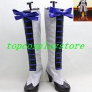 Black Butler III Book of Circus Ciel Phantomhive Grey Cosplay Shoes Boots