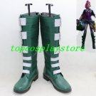 League of Legends LOL The Loose Cannon Jinx killer Cosplay Boots shoes shoe boot