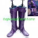 League of Legends LOL Cosplay Annie Purple Cosplay Boots shoes  #15YJZ64