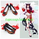 League of Legends LOL the Nine-Tailed Fox Ahri Cosplay Boots shoes high heel ver #15YJZ66