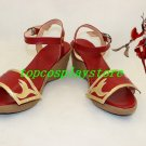 League of Legends  Akali Cosplay Shoes boots from LOL #15YJZ67