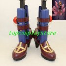 League of Legends The Deceiver Leblanc cosplay shoes from LOL boots #15YJZ79