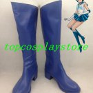 Sailor Moon Sailor Mercury Mizuno Ami Cosplay Shoes boots blue ver #TS164 hand made Custom made