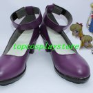 Sailor Moon Venus Minako Aino Cosplay Shoes boots purple #TS161 hand made Custom made