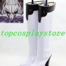 Kantai Collection high heel black & white Ver cos Cosplay Boots Shoes shoe boot #15YJZ46