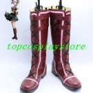 God Eater 2 Ciel Alencon Purple Cosplay Boots shoes shoe boot