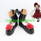 Rozen Maiden Shinku Pure Ruby cos Cosplay Shoes Boots shoe boot
