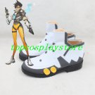 Overwatch Tracer Cosplay Boots shoes shoe boot #GS165