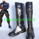 Overwatch Soldier 76 number 76 Jack Morrison new cos Cosplay Shoes boots shoe boot #AT53