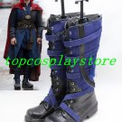 Doctor Strange Avenger Dr.Steven Vincent Strange Adult Men's Cosplay Shoes  boots shoes boot