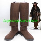 Pirates of the Caribbean Jack Sparrow Cosplay Boots shoes #cos0160