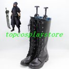 Final Fantasy 13 Noctis Lucis Caelum Noct Nokuto black cos Cosplay Shoes Boots shoe boot #NC990