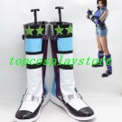 Tekken 6 ASUKA KAZAMA Cosplay Boots Shoes shoe boot  #NC497