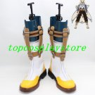 Tales of Zestiria Sorey cosplay shoes boots shoe boot yellow