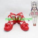 Kobayashi-san Chi no Maid Dragon KannaKaumy Kanna Kaumy red cute lolita Cosplay Shoes Boots red 1