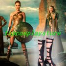 Justice League Wonder Woman Superman Diana Clark movie cos Cosplay Shoes Boots shoe