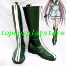Air Gear Cosplay Simca Cosplay Show Boots shoes green Ver #AO003