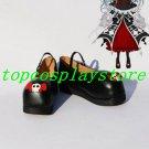 Axanael Black Female Cosplay Shoes boots cute black ver #AO0011