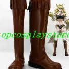 Akame Ga Kill! Leone Cosplay Shoes Boots brown Ver #AGK003