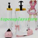 AKB0048 Kanata Shinonome Cosplay Boots shoes white & white #AKB003