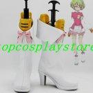 AKB0048 Kanzaki Suzuko cosplay Shoes Boots white&pink short ver #AKB007