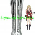 AKB0048 Cosplay Tomomi Itano Silver Cosplay Boots shoes #AKB0011