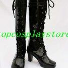 AKB0048 beginner cosplay Shoes Boots black ver #AKB0022