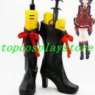 AKB0048 Cosplay Atsuko Maeda the 13th Cosplay Boots shoes black high heel #AKB0024