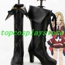 AKB0048 Cosplay Tomomi Itano Black Cosplay Boots shoes high heel #AKB0025
