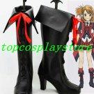 AKB0048 Cosplay Hikari Kimishima Black Cosplay Boots shoes black ver #AKB0027