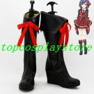 AKB0048 Cosplay Atsuko Katagiri/Atsuko Maeda 13th Cosplay Boots shoes black ver #AKB0028