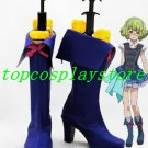 AKB0048 Suzuko Kanzaki Blue Cosplay Boots shoes #AKB0030