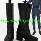 Aldnoah Zero Slaine Troyard Cosplay Boots shoes #AZ003