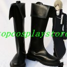 Are you Alice? Alice The Knave of Hearts PU Leather Rubber soles cosplay shoes boots #AYAC001
