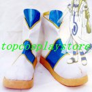 Aria Cosplay Alicia Florence Cosplay Boots shoes blue&white ver #AC003
