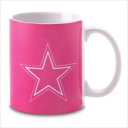 Pink Dallas Cowboys Mug