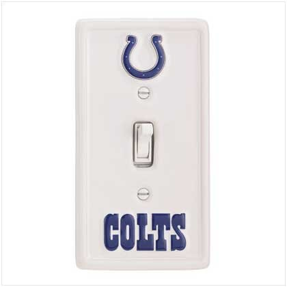 NFL Indianapolis Colts Switchplate